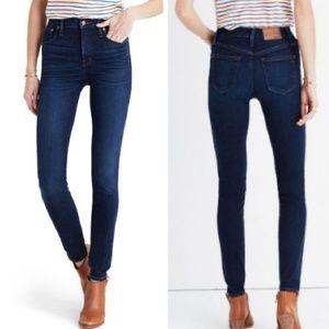 "Madewell 9"" High Riser Skinny Skinny Jeans 27 Tall"